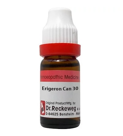 Dr Reckeweg Germany Erigeron Canadensis Homeopathy Dilution 6C, 30C, 200C, 1M, 10M, CM
