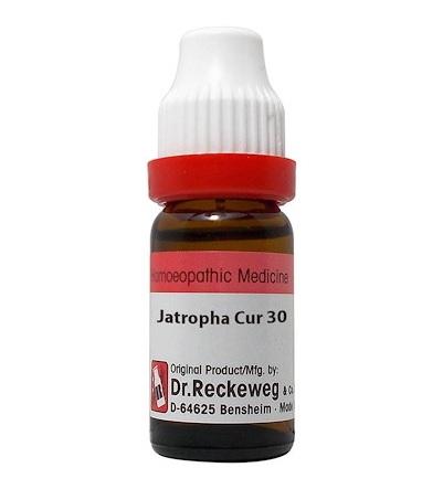 Dr Reckeweg Germany Jatropha Curcas Homeopathy Dilution 6C, 30C, 200C, 1M, 10M, CM