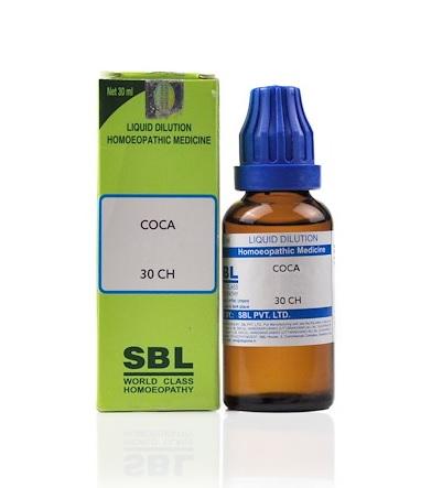 SBL Coca Homeopathy Dilution 6C, 30C, 200C, 1M, 10M, CM