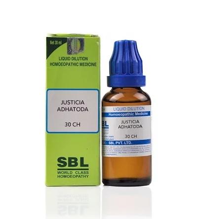 SBL Justicia Adhatoda Homeopathy Dilution 6C, 30C, 200C, 1M, 10M, CM