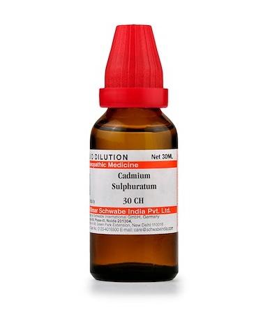 Schwabe Cadmium Sulphuratum Homeopathy Dilution 6C, 30C, 200C, 1M, 10M