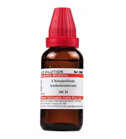 Schwabe Chenopodium Anthelminticum Homeopathy Dilution 6C, 30C, 200C, 1M, 10M