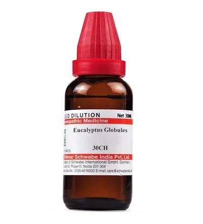 Schwabe Eucalyptus Globulus Homeopathy Dilution 6C, 30C, 200C, 1M, 10M, CM