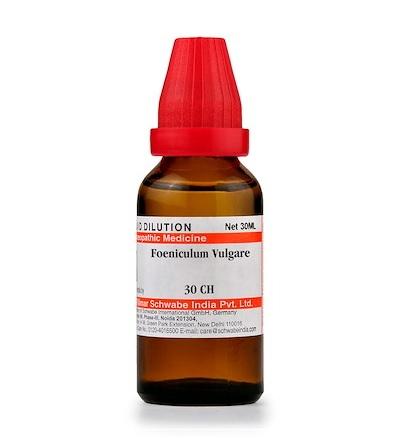 Schwabe Foeniculum Vulgare Homeopathy Dilution 6C, 30C, 200C, 1M, 10M, CM