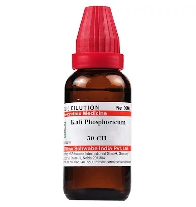 Schwabe Kali Phosphoricum Homeopathy Dilution 6C, 30C, 200C, 1M, 10M, CM