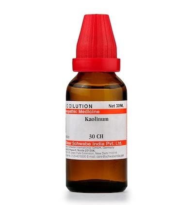 Schwabe Kaolinum Homeopathy Dilution 6C, 30C, 200C, 1M, 10M, CM