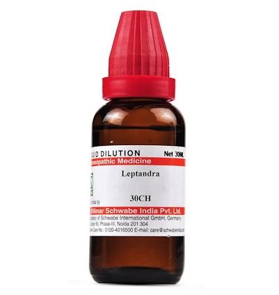 Schwabe Leptandra Homeopathy Dilution 6C, 30C, 200C, 1M, 10M