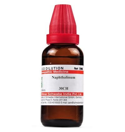 Schwabe Naphthalinum Homeopathy Dilution 6C, 30C, 200C, 1M, 10M