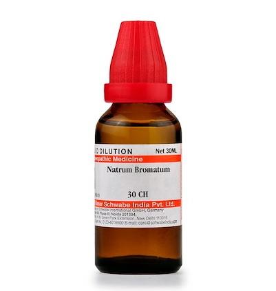 Schwabe Natrum Bromatum Homeopathy Dilution 6C, 30C, 200C, 1M, 10M