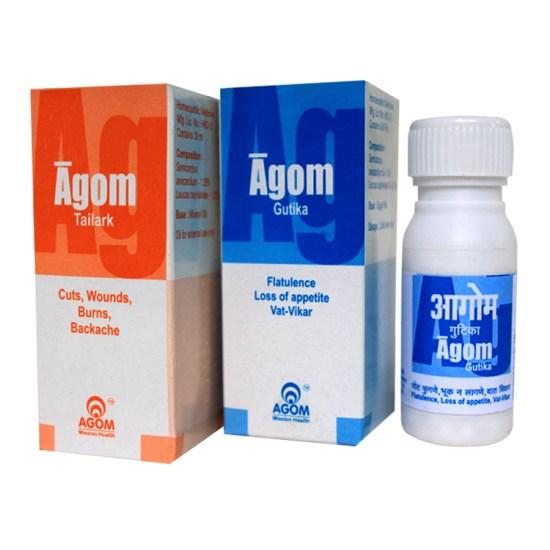 Agom Tailark Oil & Pills Combo