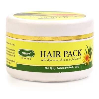 Bakson Sunny Hair Pack with Aloevera, Arnica & Jaborandi