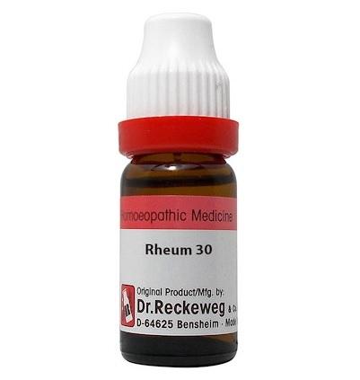 Dr Reckeweg Germany Rheum Homeopathy Dilution 6C, 30C, 200C, 1M, 10M