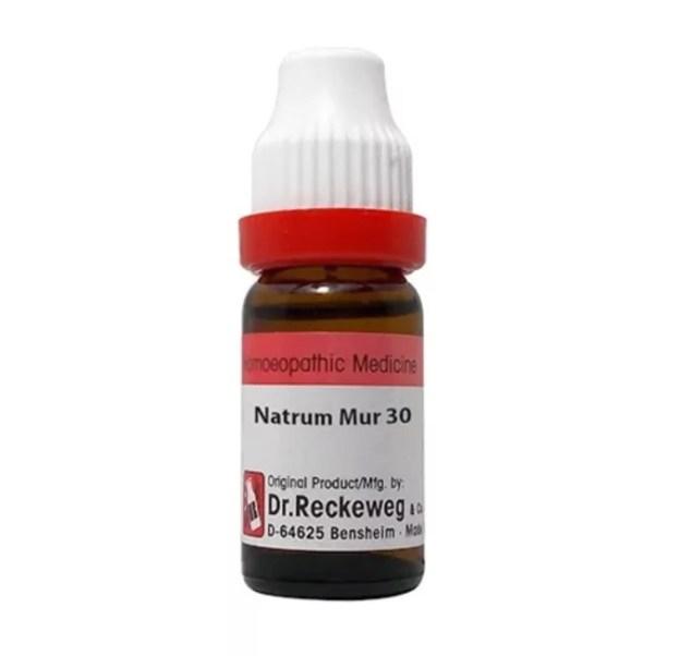 Dr Reckeweg Natrium Muriaticum Dilution 30C