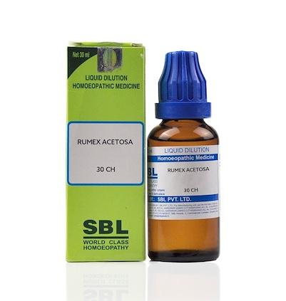 SBL Rumex Acetosa Homeopathy Dilution 6C, 30C, 200C, 1M, 10M