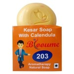 Blooume 203 Kesar soap with Calendula for Sun tan, Acne