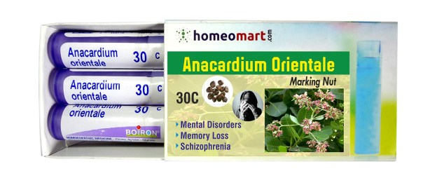 """Homeopathy medicine Anacardium Orientale for Mental Disorders, Memory loss, Schizophrenia"""