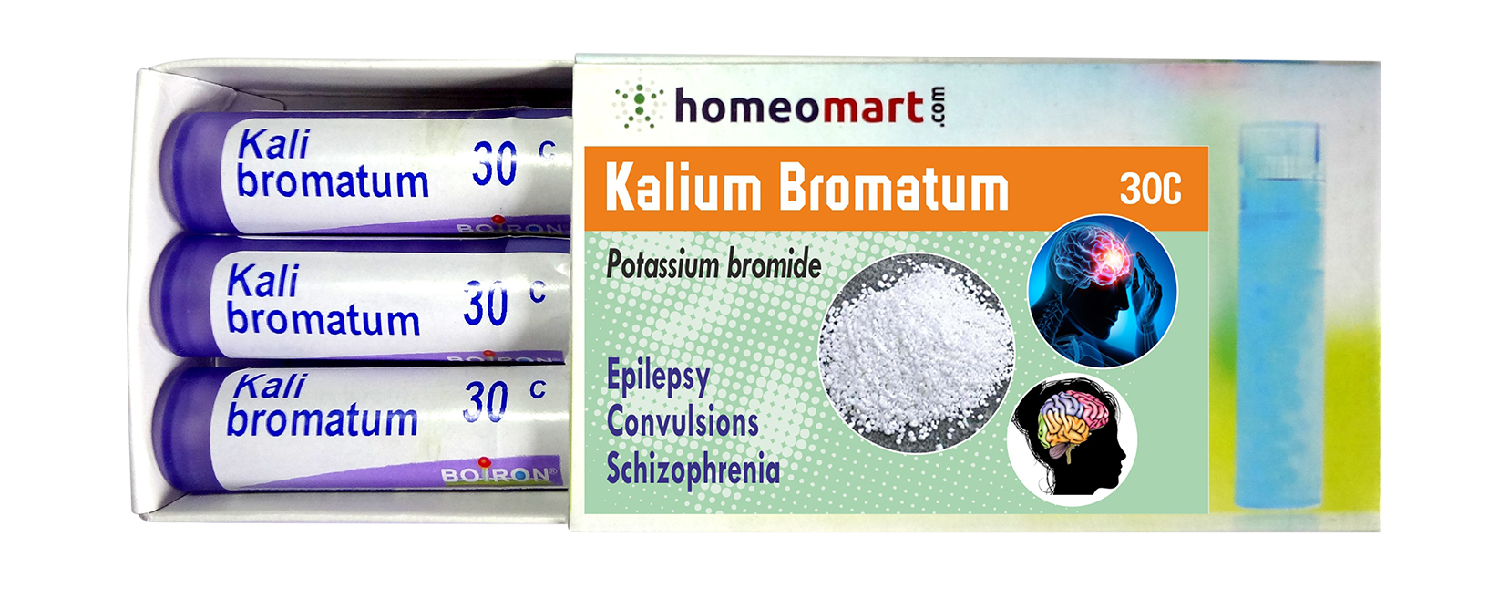 Homeopathy Kalium Bromatum Remedy Kit for Epilepsy, Convulsion - Homeopathy  Remedies
