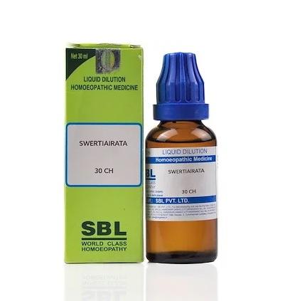 SBL Swertia Chirata Homeopathy Dilution 6C, 30C, 200C, 1M, 10M