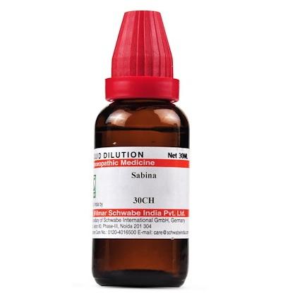 Schwabe Sabina Homeopathy Dilution 6C, 30C, 200C, 1M, 10M