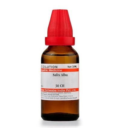 Schwabe Salix Alba Homeopathy Dilution 6C, 30C, 200C, 1M, 10M