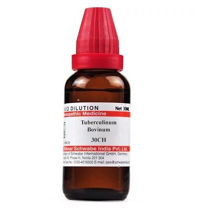 Schwabe Tuberculinum Bovinum Homeopathy Dilution 6C, 30C, 200C, 1M, 10M