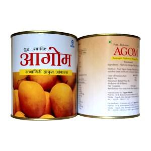 Agom Ratnagiri Alphonso Mango Pulp, hapoos