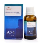 Allen A74, Homeopathic Hormonal Imbalance Drops