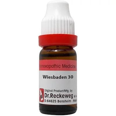 Dr Reckeweg Wiesbaden Dilution 6C, 30C, 200C, 1M, 10M