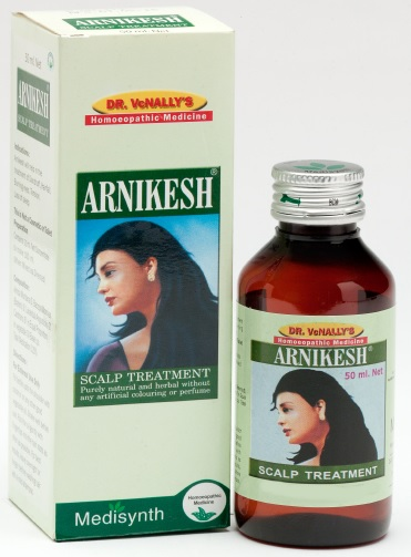 Medisynth Arnikesh Scalp Treatment Oil for hair fall, burning eyes, insomnia