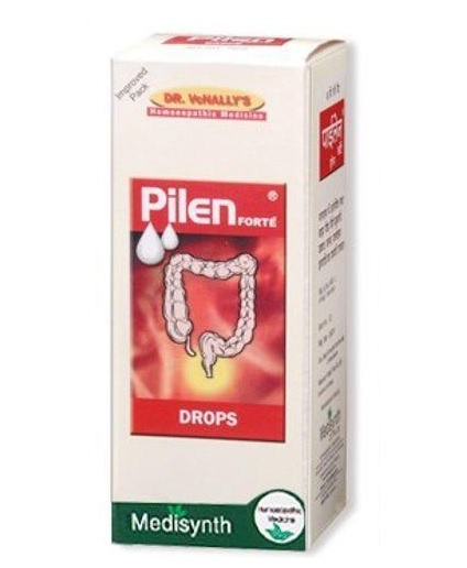Medisynth Pilen Drops for Hemorrhoids, Fissures