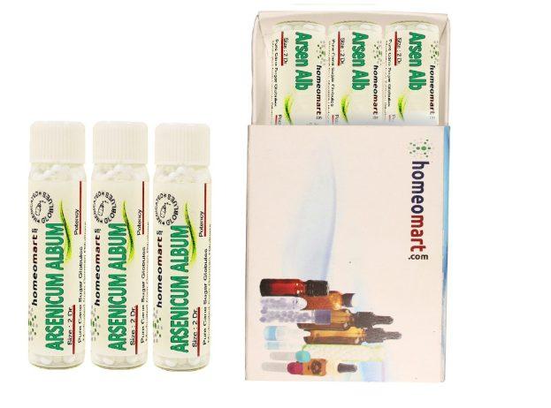 Arsenicum Album homeopathy pellets