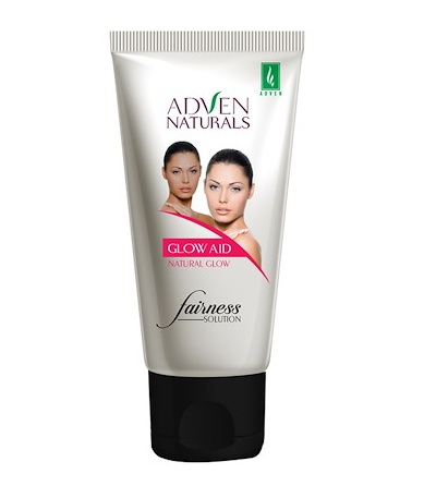 Adven naturals glow aid fairness solution for blemishes, dark circles