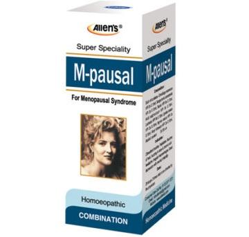 Allen M pausal Drops for climacteric troubles, palpitation, irregular haemorrhages