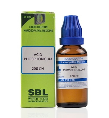 SBL Acid Phosphoricum Homeopathy Dilution 6C, 30C, 200C, 1M, 10M