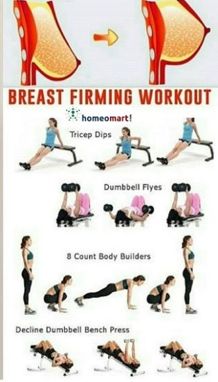 Best Breast firming exercises for firm boobs