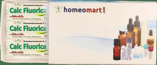 Calcarea Fluorica Homeopathy Pills Box