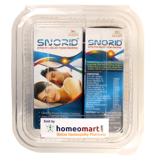 Snorid snore relief from allens pack of 2