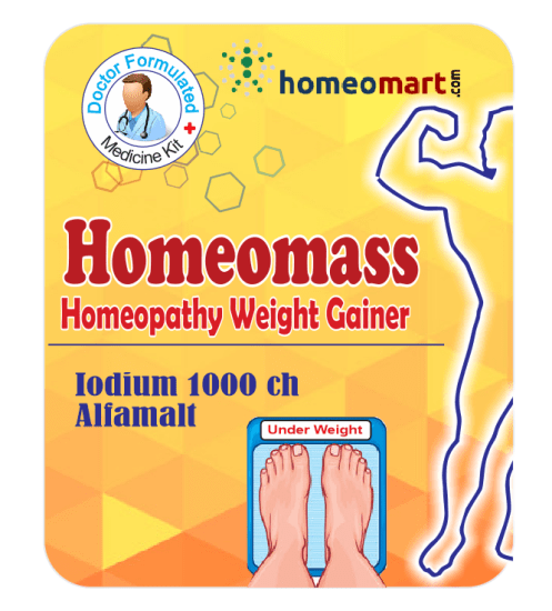 Homeopathy weight gain drug supplement