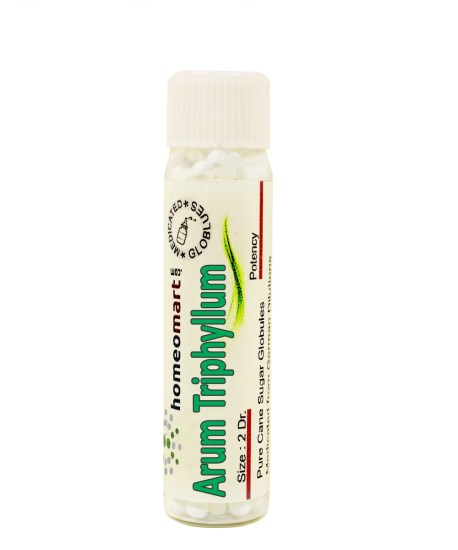Arum Triphyllum homeopathy pills