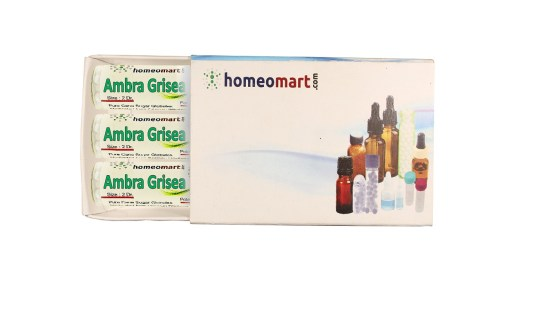 Ambra Grisea homeopathy pills