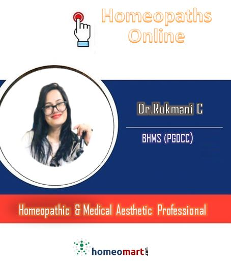 Dr Rukmani Homeopathic Doctor Online for consultation