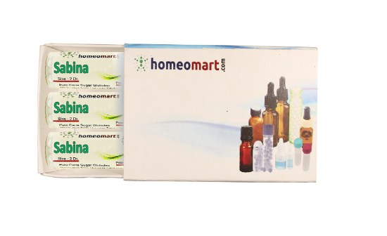 Sabina homeopathy pills