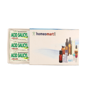 Acid Salicylic Homeopathy 2 Dram Pellets 6C, 30C, 200C, 1M, 10M