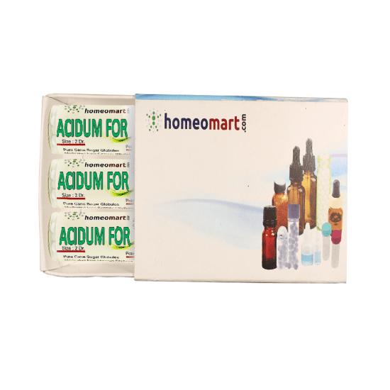Acidum Formicum Homeopathy 2 Dram Pellets 6C, 30C, 200C, 1M, 10M