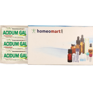 Acidum Gallicum Homeopathy 2 Dram Pellets 6C, 30C, 200C, 1M, 10M