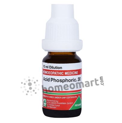 Adel Acid Phosphoric Homeopathy Dilution 6C, 30C, 200C, 1M