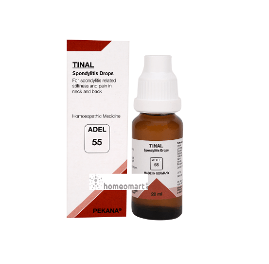 Adel 55 (TINAL) Spondylitis drops for stiffness and pain in Neck & Back