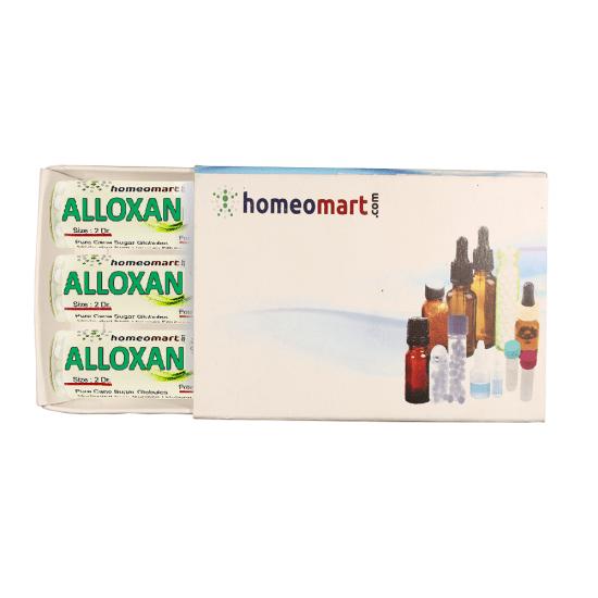 Alloxan Homeopathy 2 Dram Pellets 6C, 30C, 200C, 1M, 10M