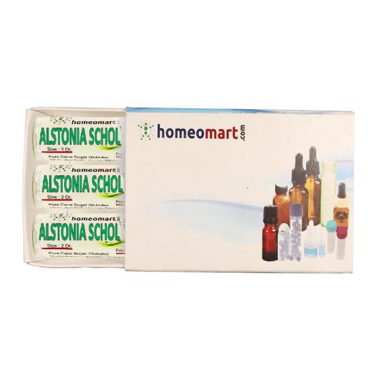 Alstonia Scholaris Homeopathy 2 Dram Pellets 6C, 30C, 200C, 1M, 10M