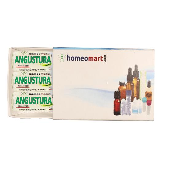 Angustura Vera Homeopathy 2 Dram Pellets 6C, 30C, 200C, 1M, 10M